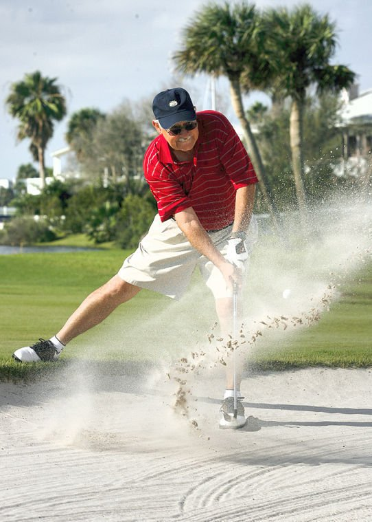 Challenging golf holes
