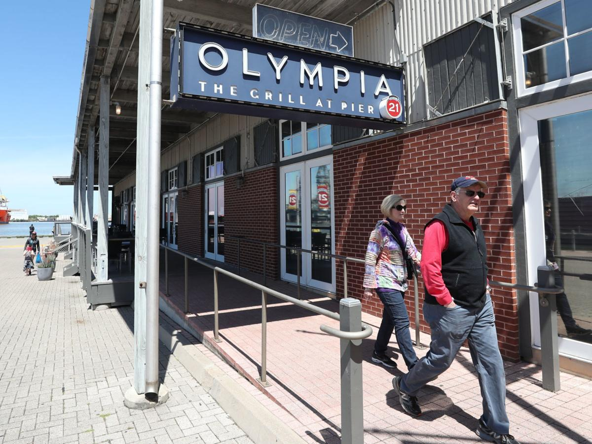 Olympia Grill closed