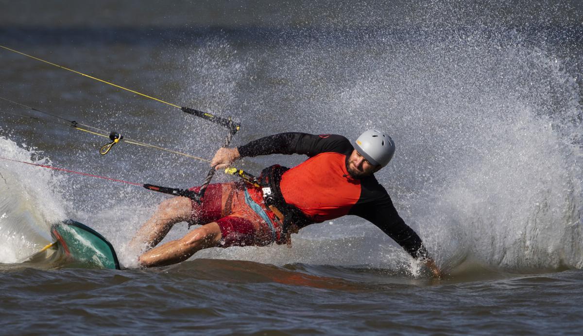 Texas City Levee Kitesurfing Beach