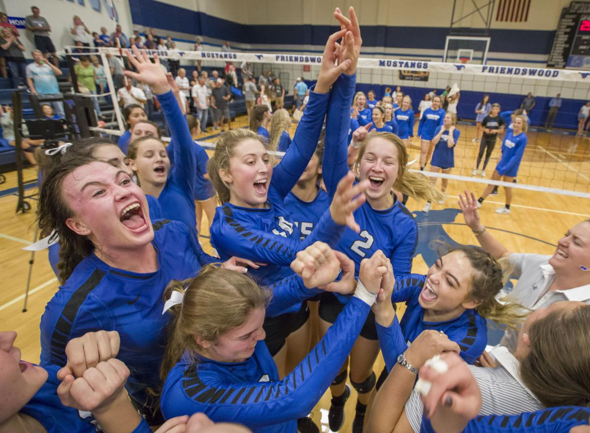 Friendswood vs Clear Creek Volleyball