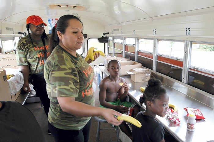 TCISD's Sting Mobile busy feeding students during summer break