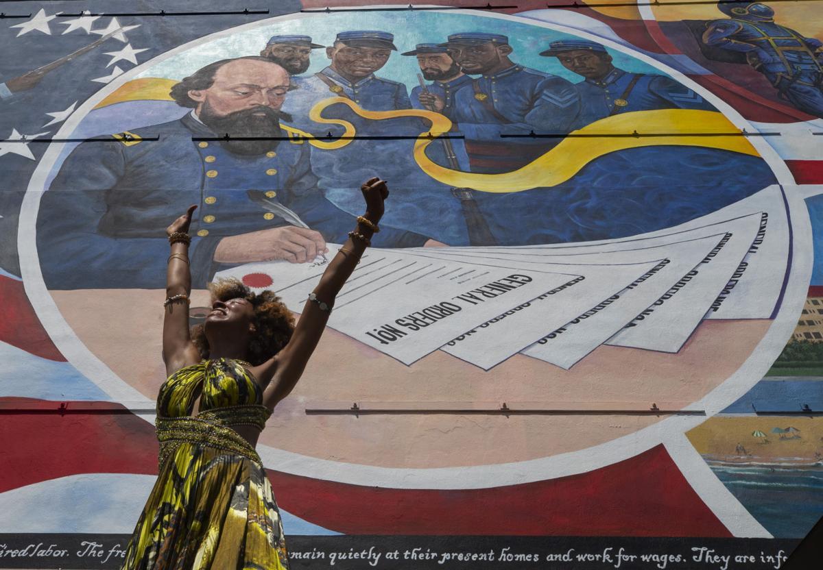 Galveston Juneteenth Mural Dedication