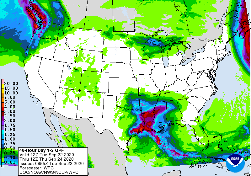 48-Hour Day 1-2 QPF