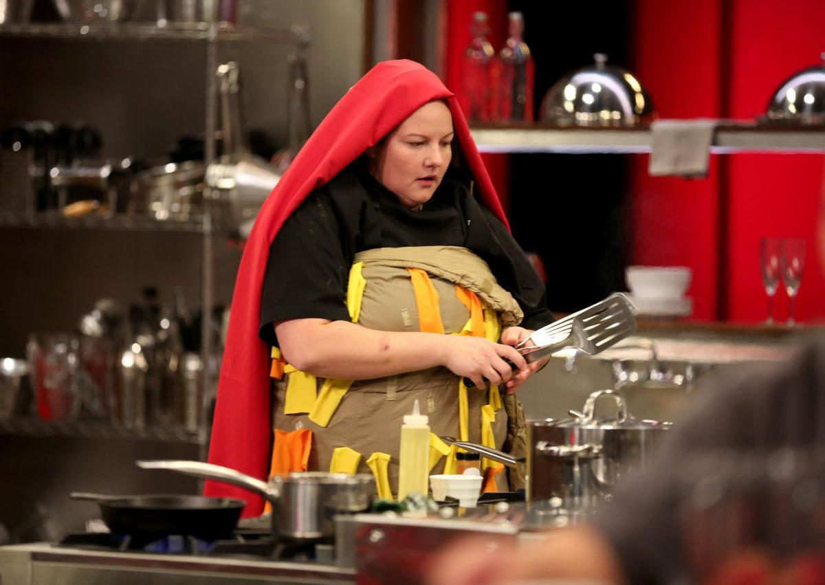 mary bass competes on food networks cutthroat kitchen tv show the episode will air sunday at 6 pm bass is the second galveston county chef to appear - Cutthroat Kitchen