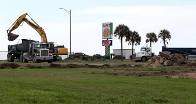 Crews clearing old Fort Crockett site