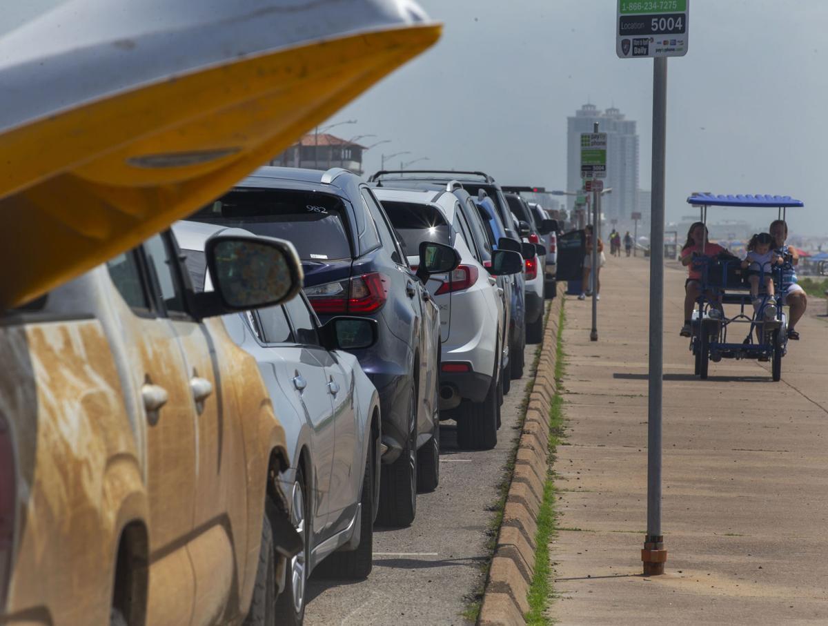 Seawall Parking