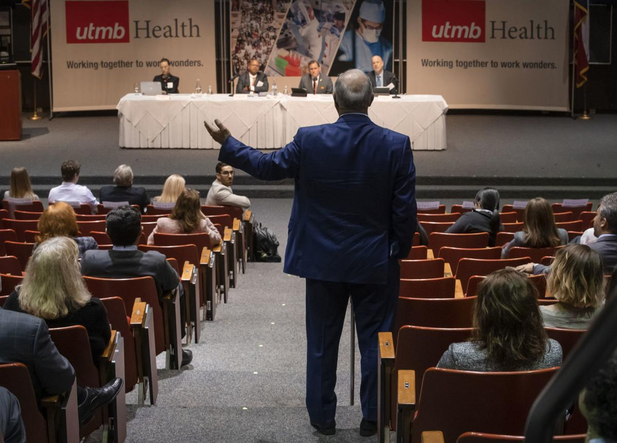 UTMB President Search Forum