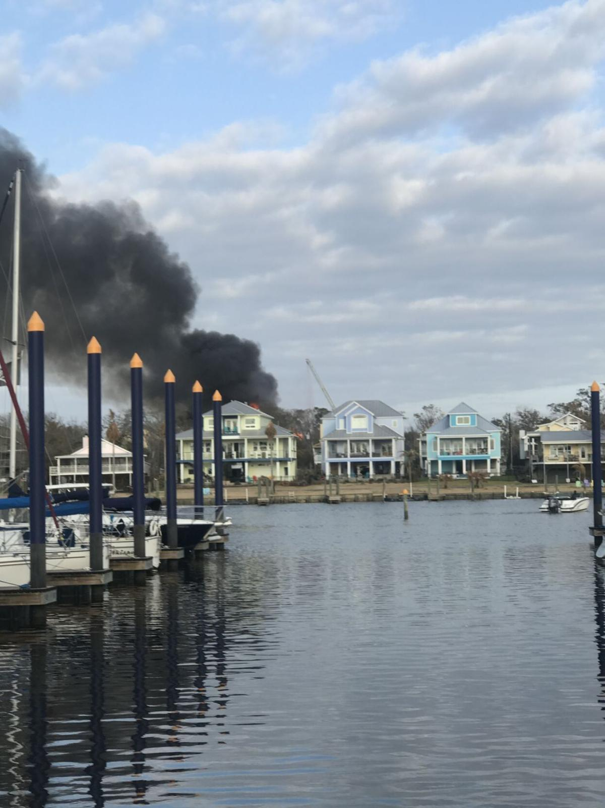Clear Lake Shores fire