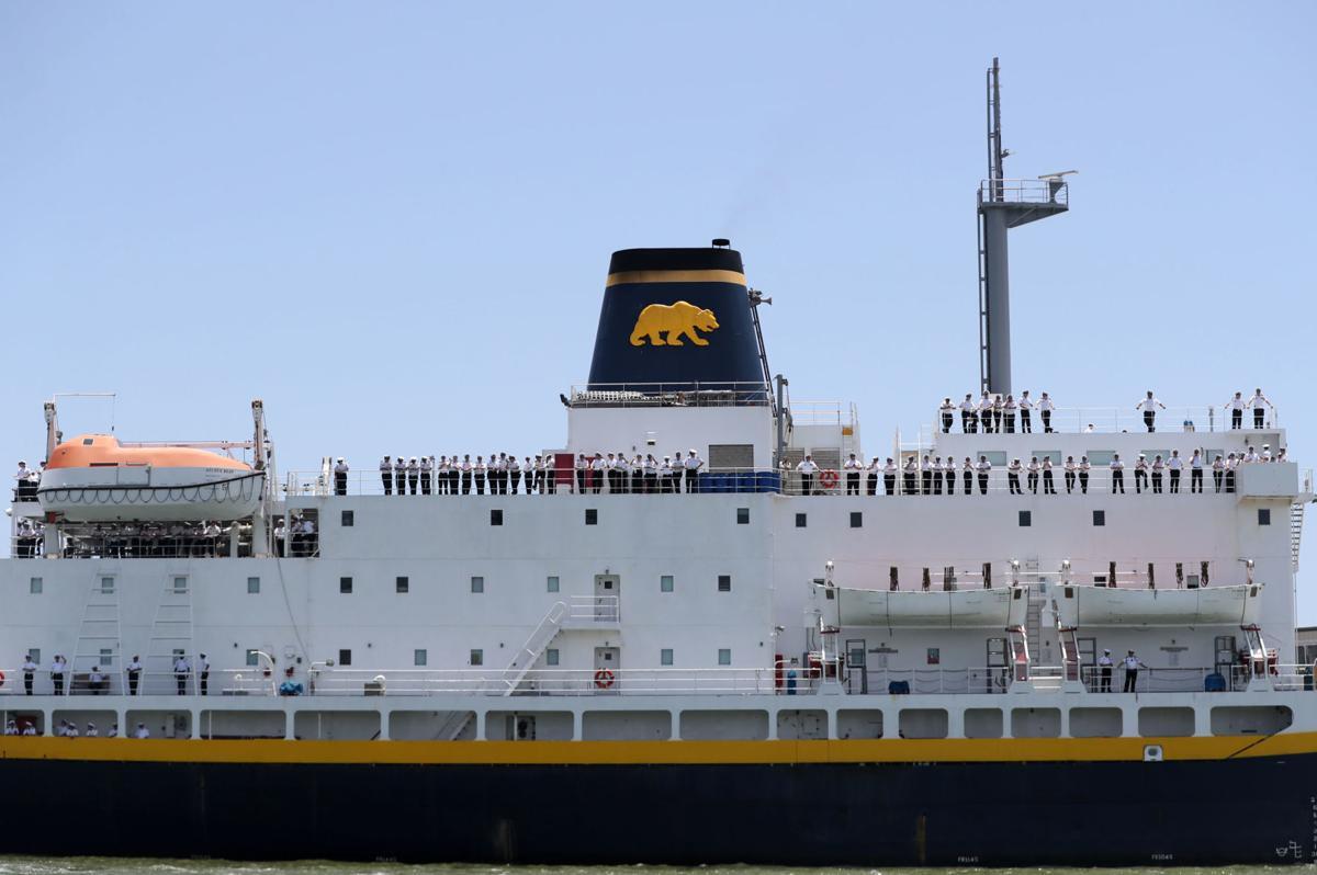 Golden Bear departs