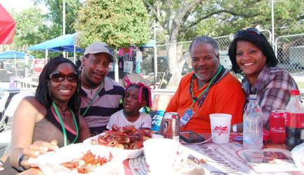 Red, White and Bayou Crawfish and Texas Music Festival