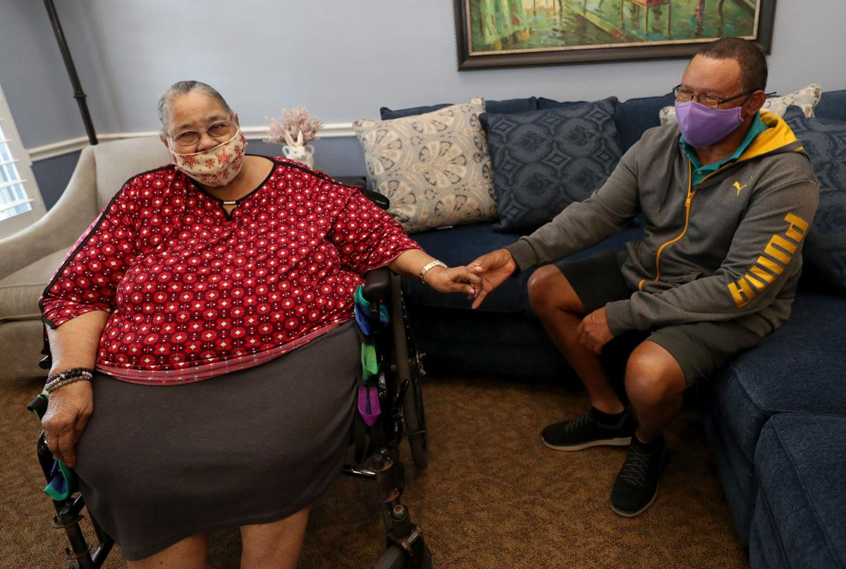Family able to visit at nursing homes again