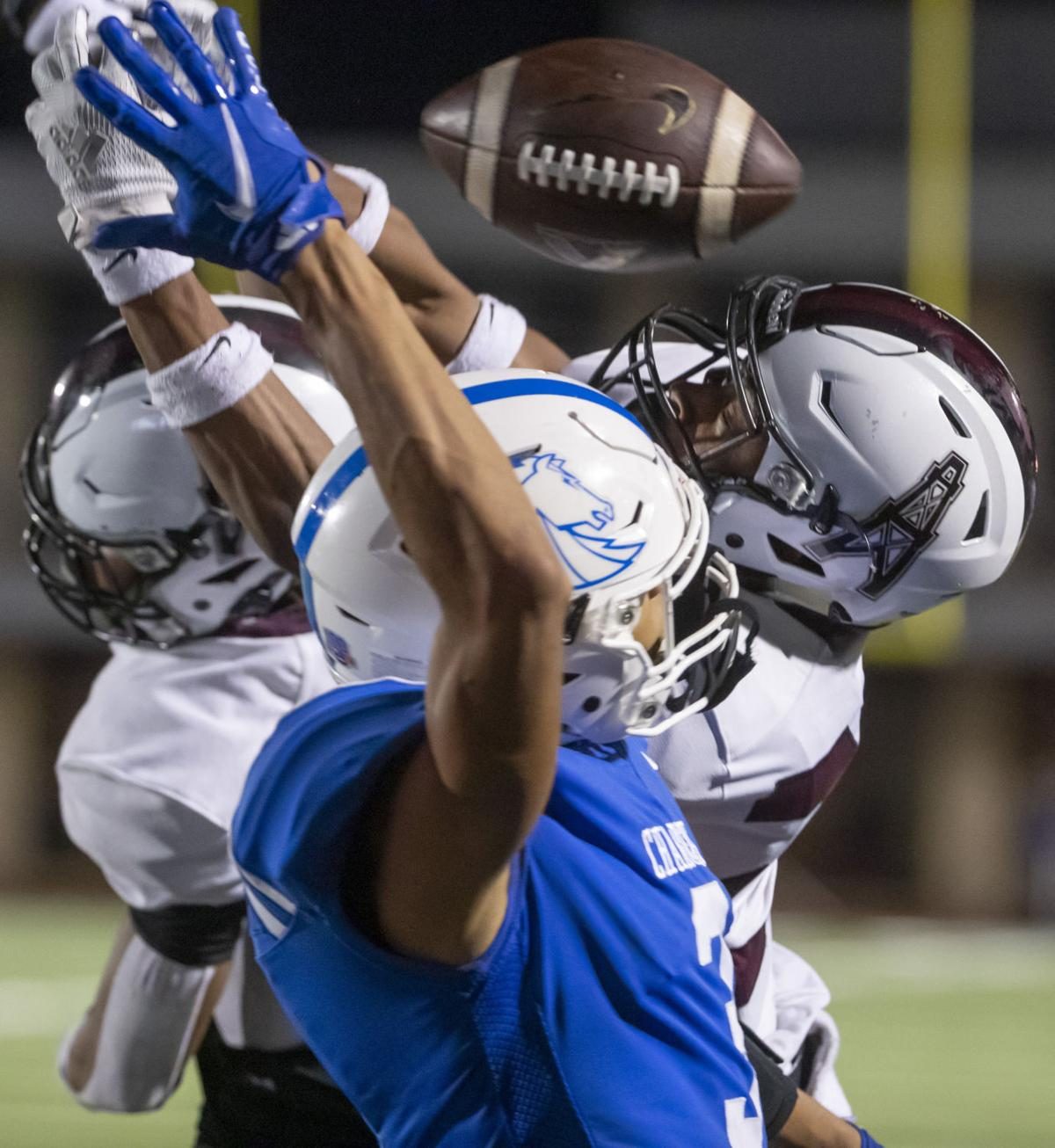 Clear Springs vs Pearland High School Playoff Football
