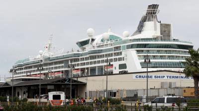 Passengers head out on cruise amid Covid-19 fears
