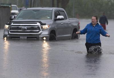 Bacliff Flooding