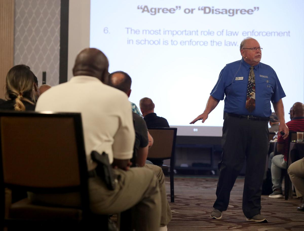 School safety officers train in Galveston
