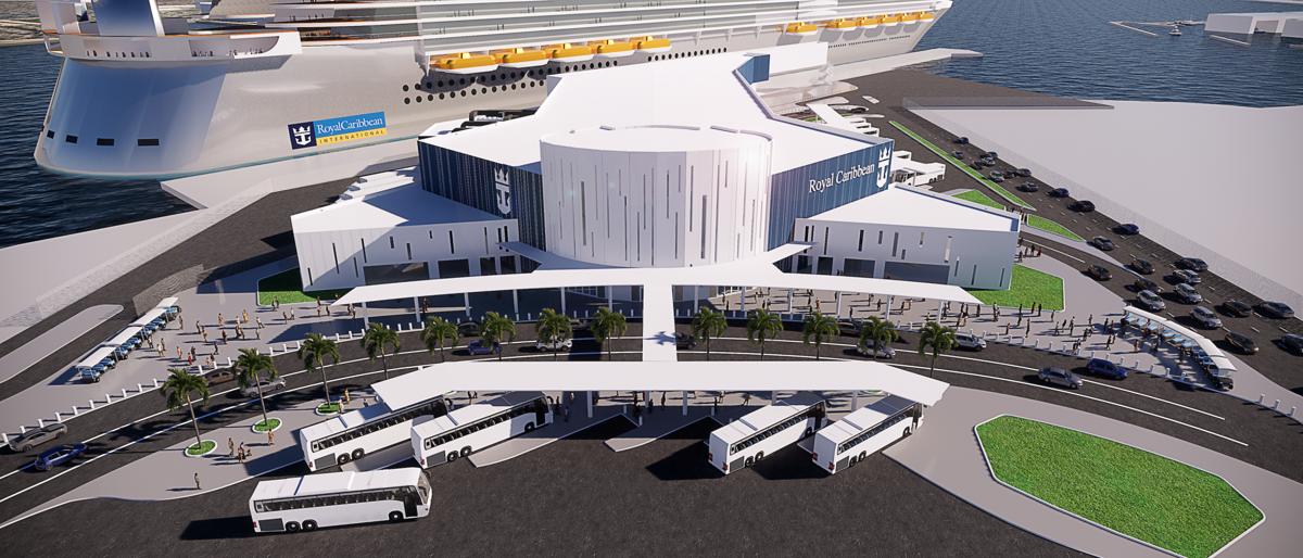 Port of Galveston Cruise Terminal Rendering