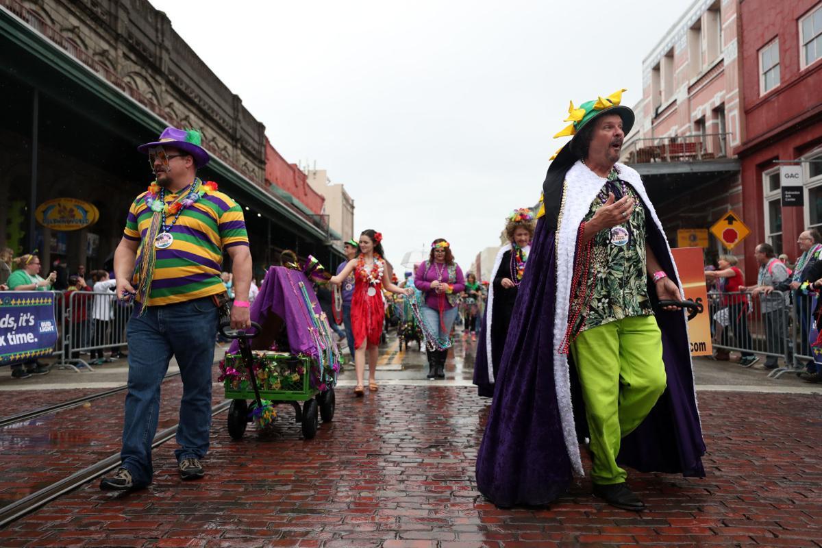Z Krewe parade