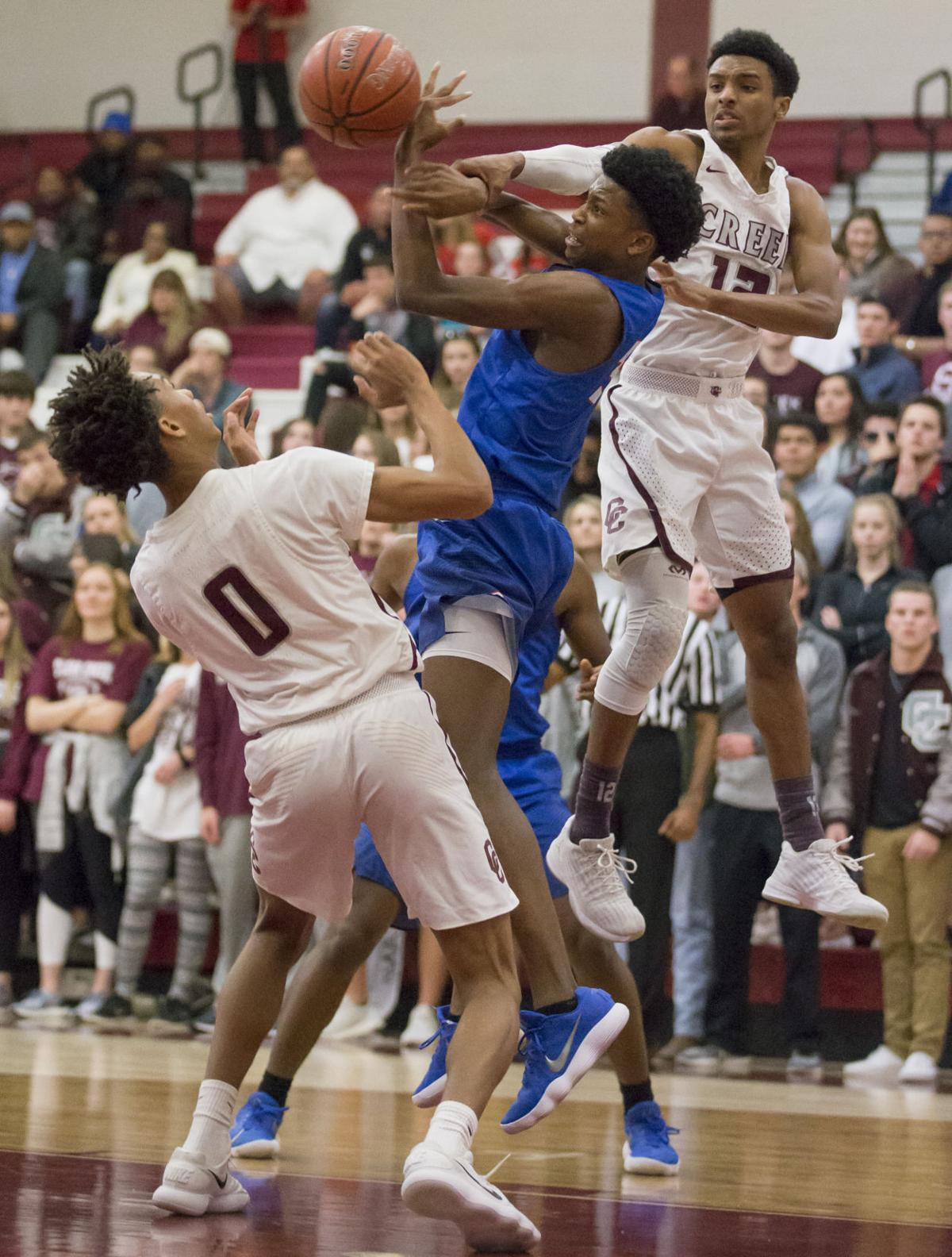 Clear Creek vs Dickinson Boys Basketball