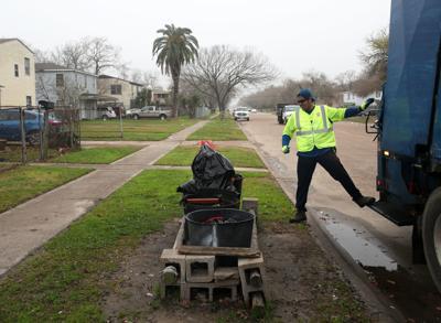 Texas City trash collection