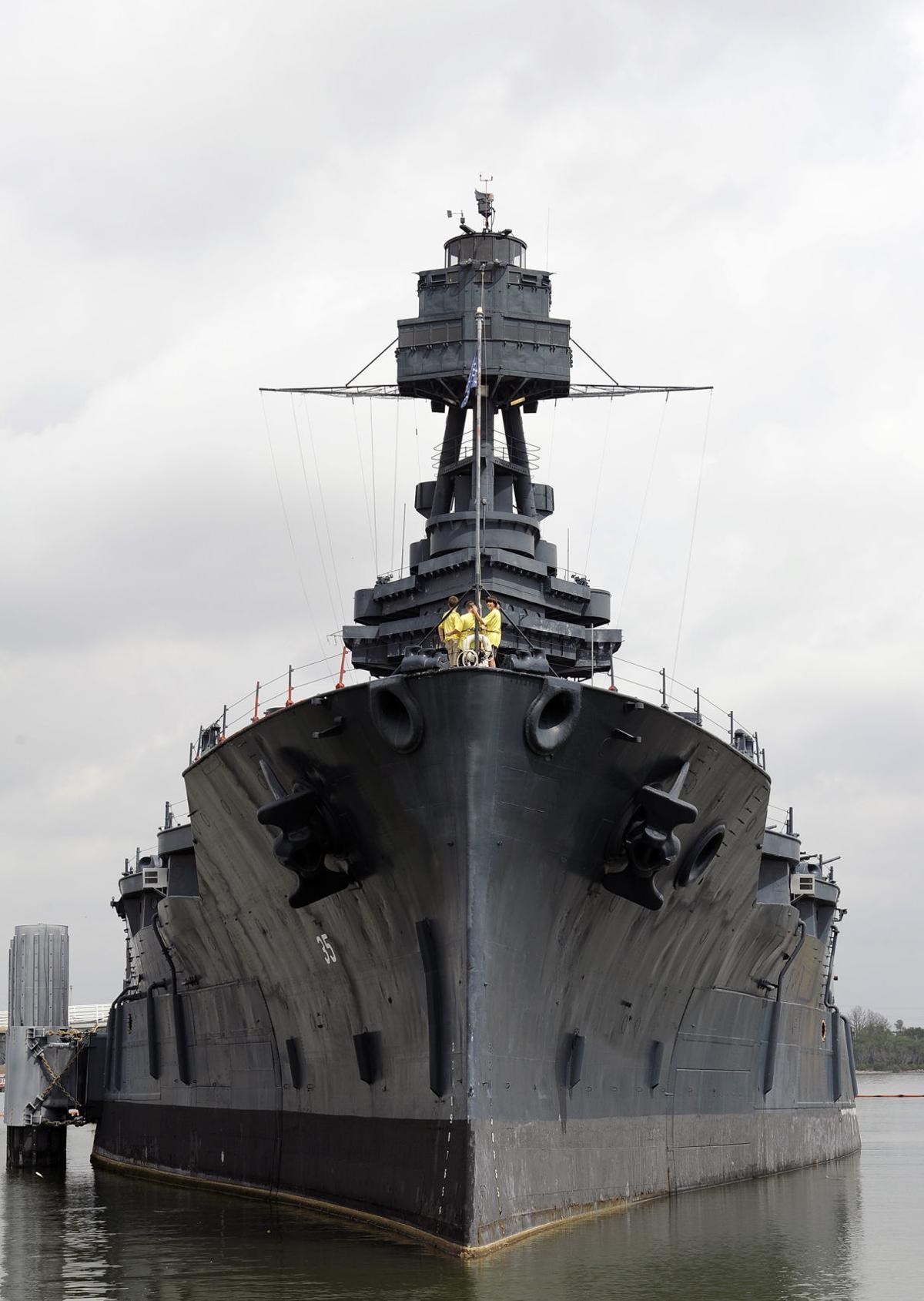 Leaky Battleship Texas
