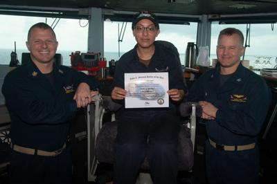 Isle native named 'Sailor of the Day'