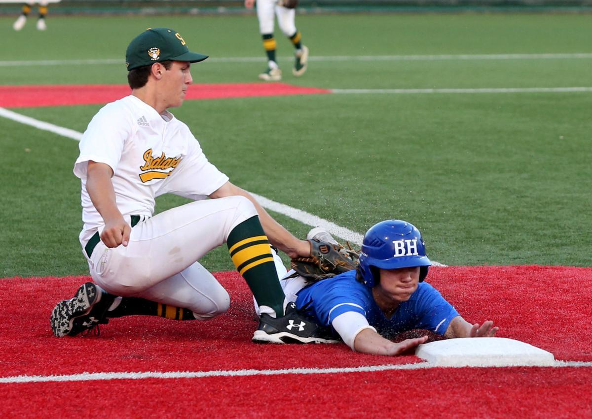 Santa Fe vs. Barbers Hill baseball