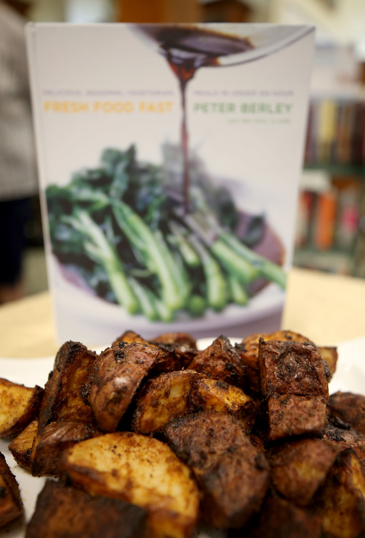 Wide variety of cookbooks at annual booksale