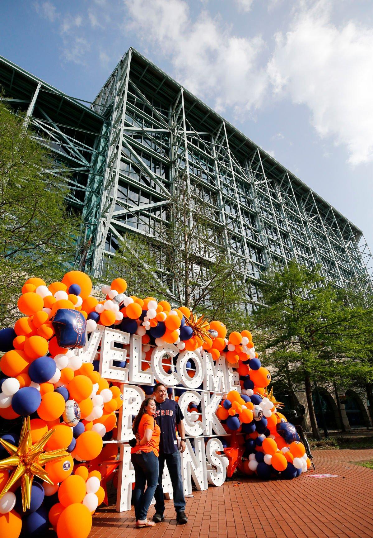 Houston Astros Home Opener