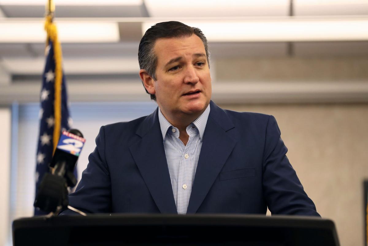 Ted Cruz in League City