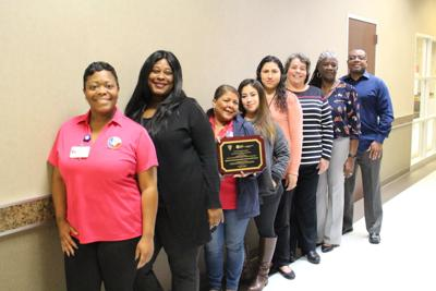Health department awarded service award