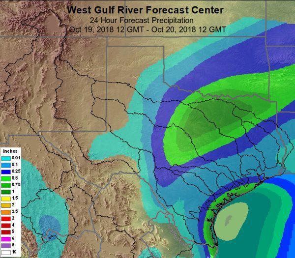 West Gulf River Forecast Center