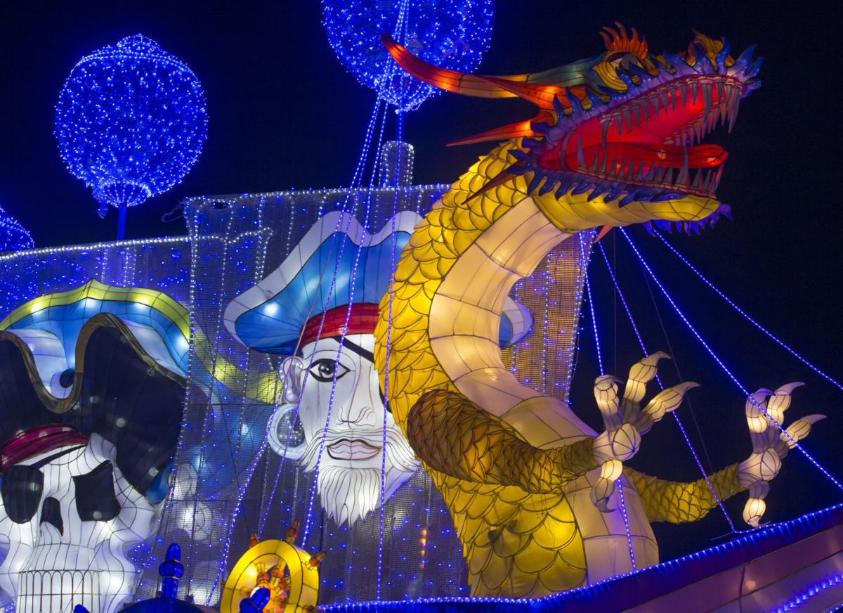 Magical Winter Lights Debuts At Gulf Greyhound Park