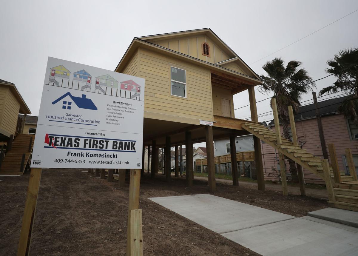 New Galveston housing