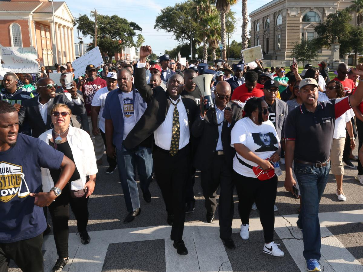 Marchers protest police actions, demand justice for Neely