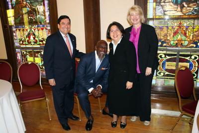 Chris Gardner Sr. visits CHRISTUS Foundation