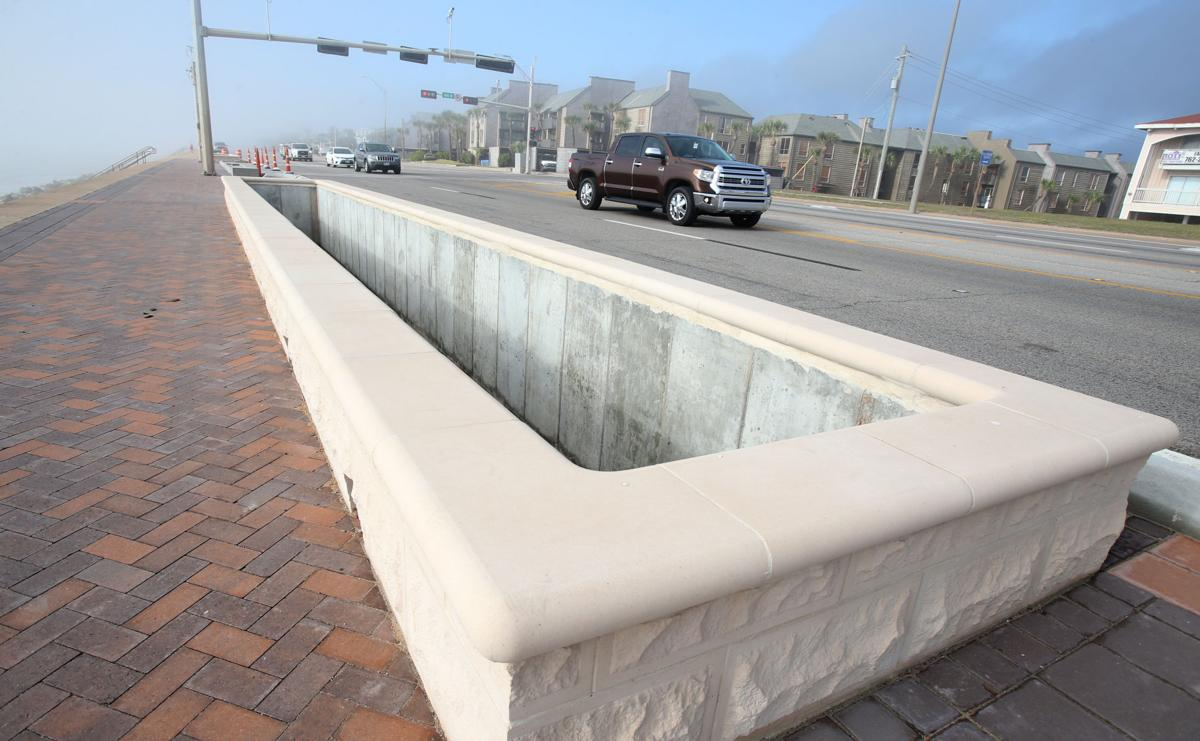 Work continues on seawall improvements