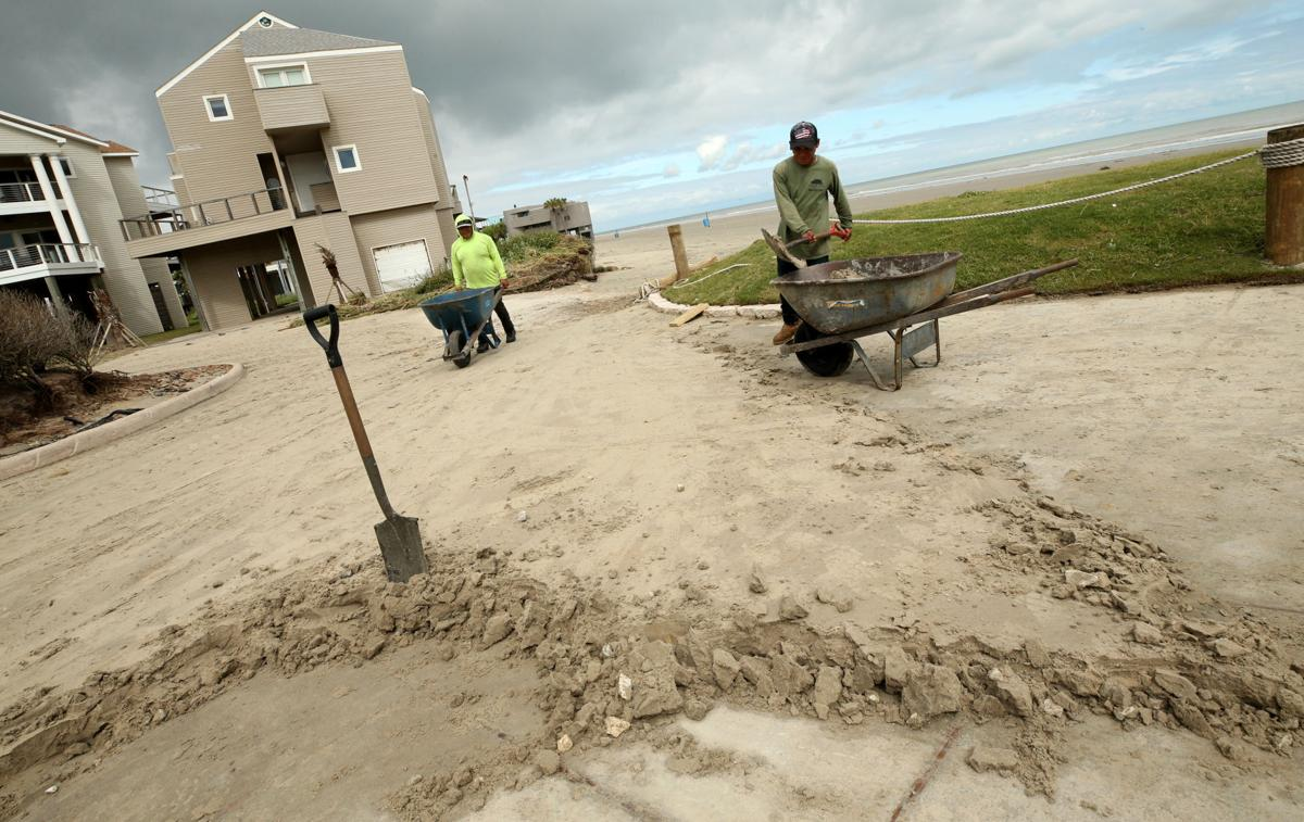 West End beaches battered again