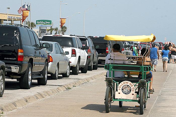 Seawall traffic