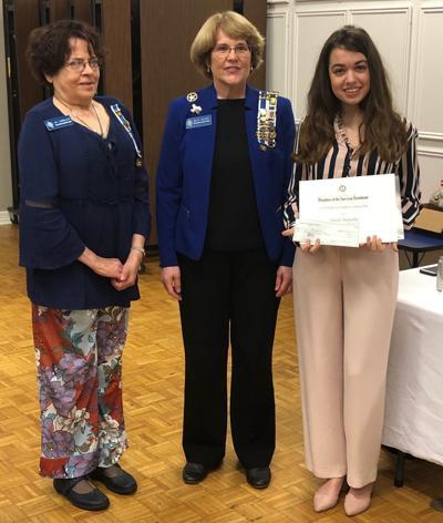 Sarah Bunjaku wins scholarship from DAR