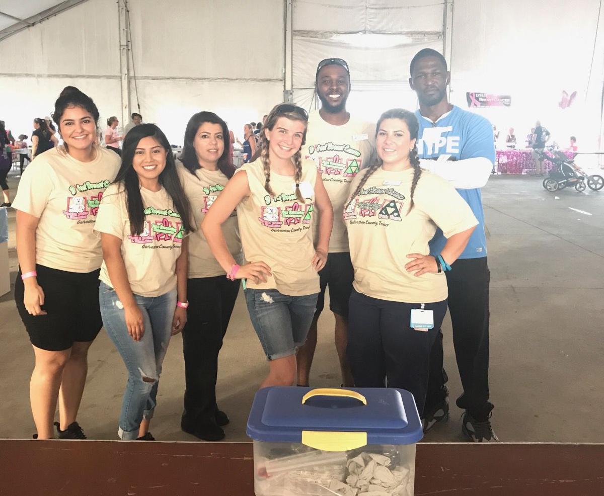 Galveston College nursing students
