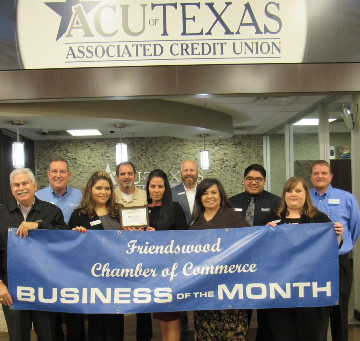 ACU Texas named business of the month