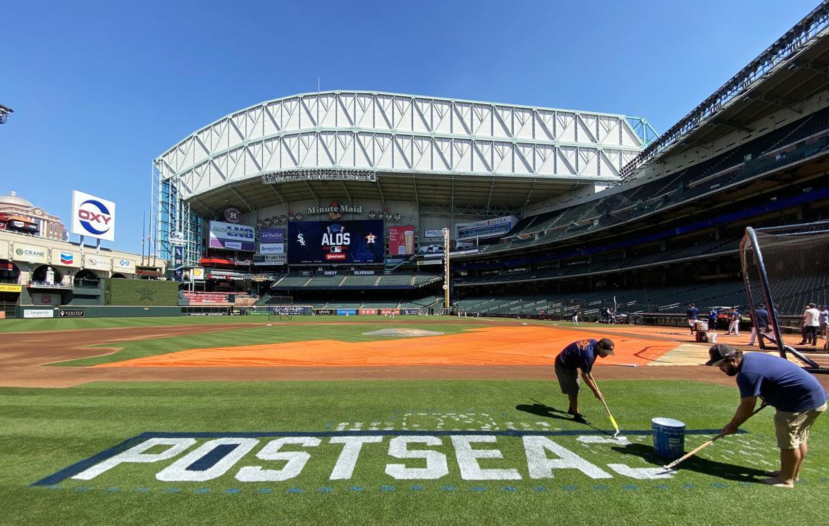 Houston Astros ALDS Workout