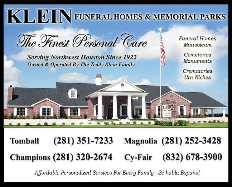 KLEIN Funeral Homes & Memorial Parks