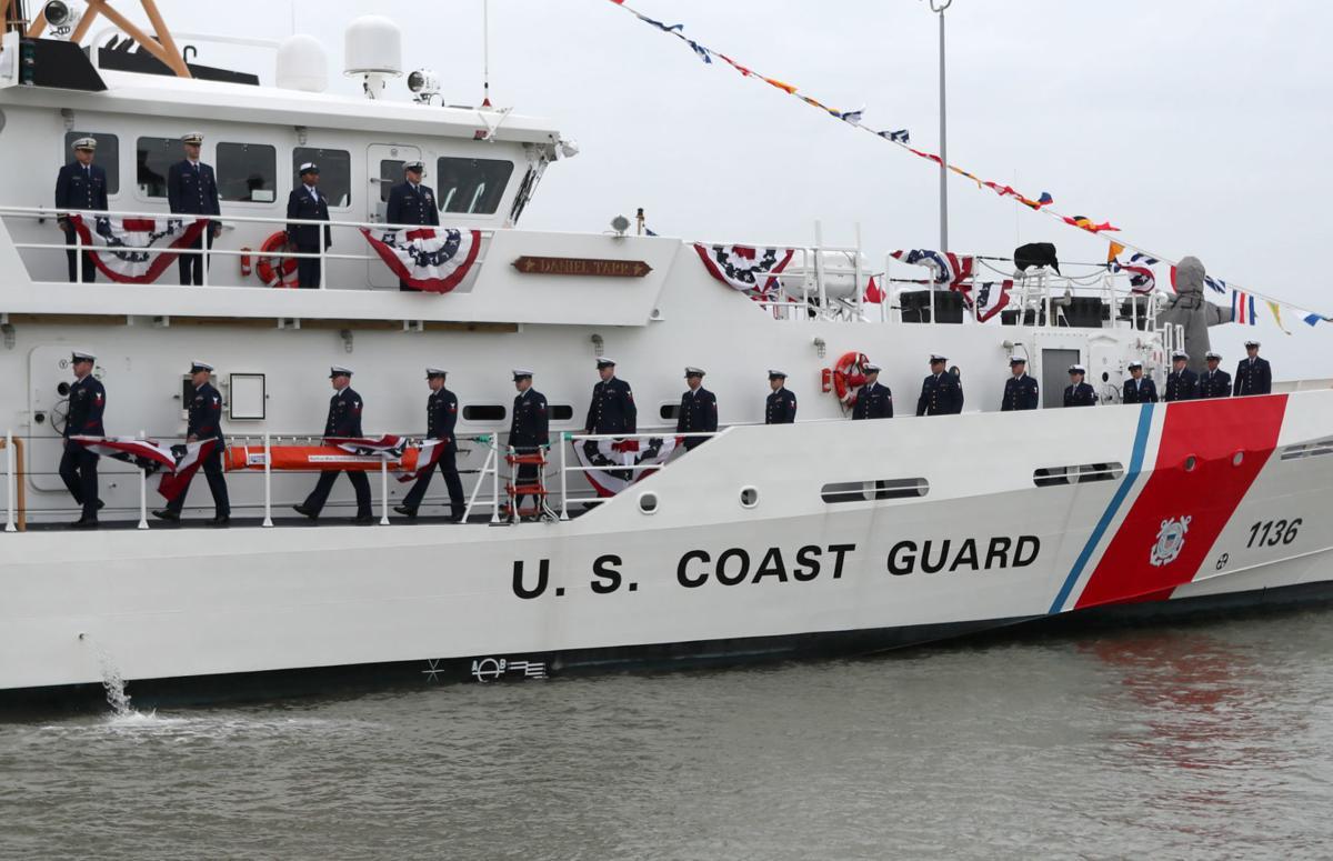 Coast Guard commission cutter