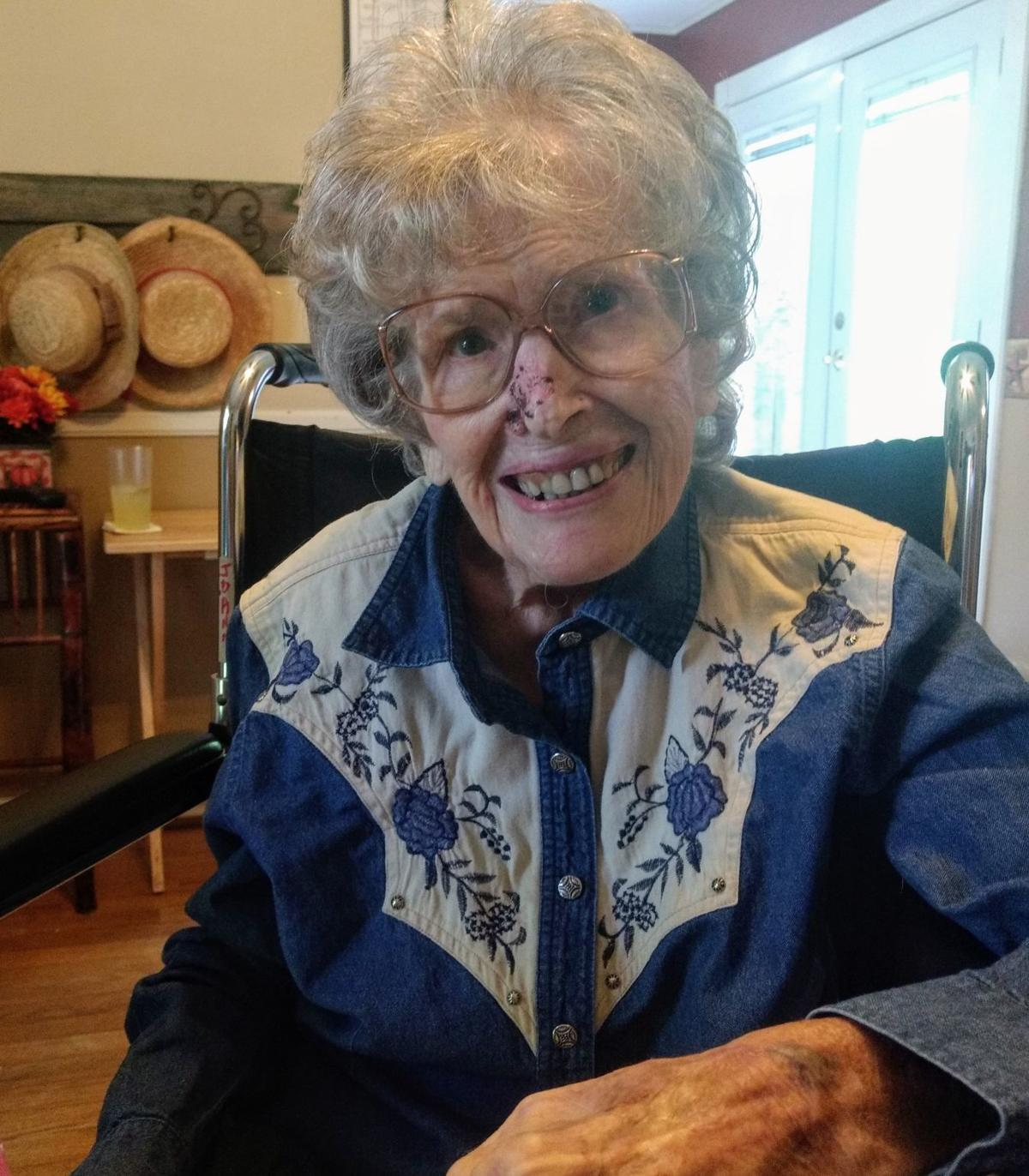 Alice Hamm turns 100 years old