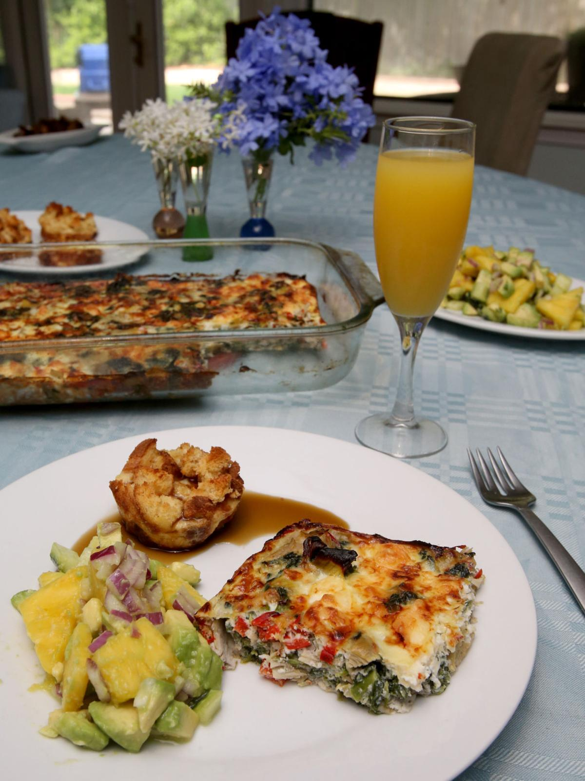 Recipes for an Mother's Day breakfast