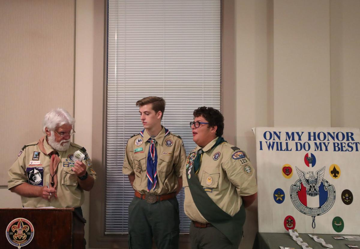Bay Area boy scouts