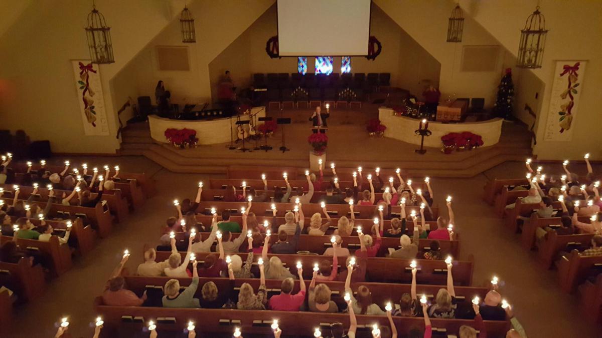 Friendswood Friends Church Christmas pre-COVID-19