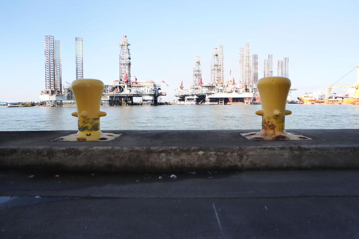 Wharf improvements