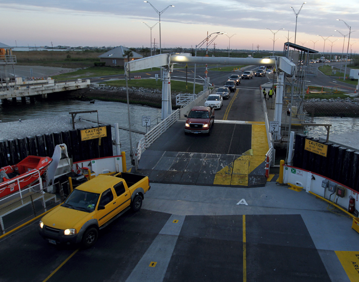 Ferry service back at full speed